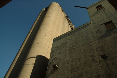 Towers at the Canada Malting Co.