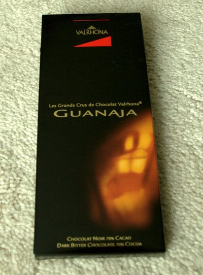 Valrhona Grand Cru Guanaja in package