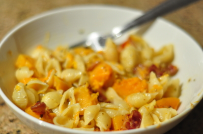 Delicious Butternut Squash Carbonara