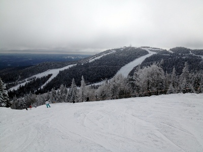 Awesome view from the top of 'Edge Lift'