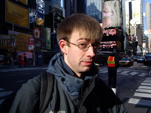 Me in Times Square