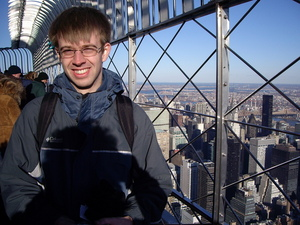 Me on top of the Empire State building