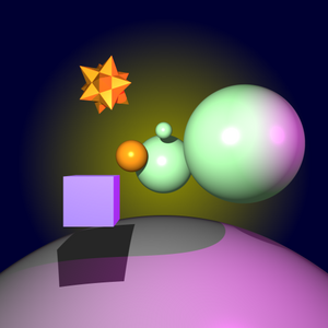 Ray Tracer sample 2