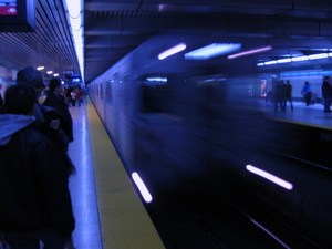 The Toronto subway